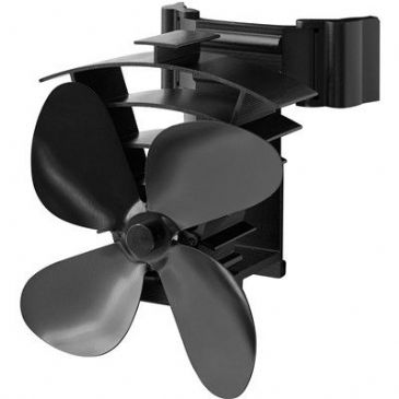 Valiant FIR350 Remora Magnetic Flue Pipe Heat Powered 4 Bland Stove Fan